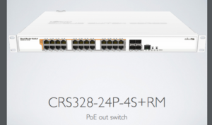 mikrotik poe switch